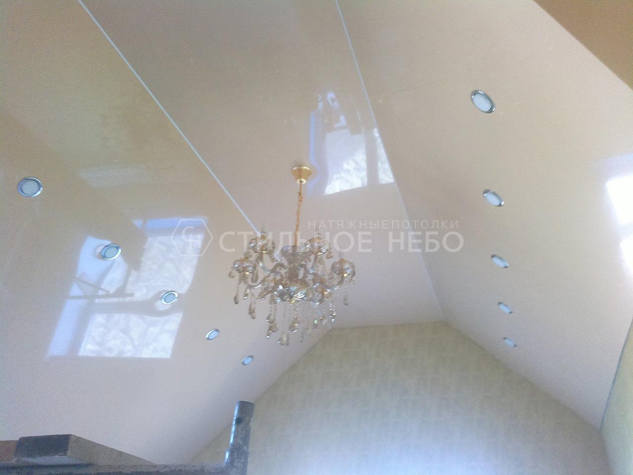 Скошенные потолоки